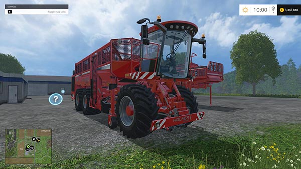 Holmer potato pack v 1.0