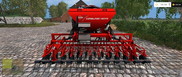 Kuhn Venta LC402 and HR 404
