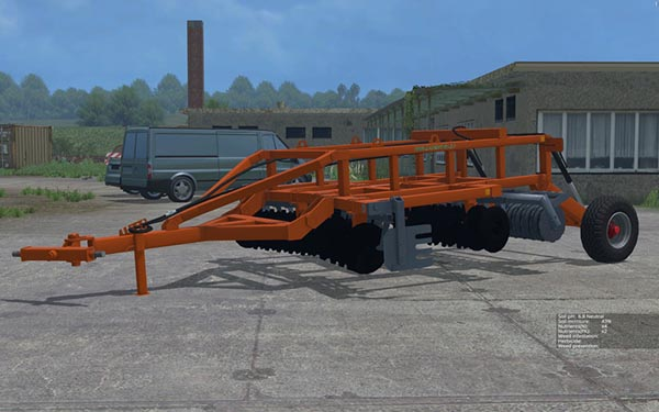 Laumetris heavy disc harrow LLA - 3 v 1.0