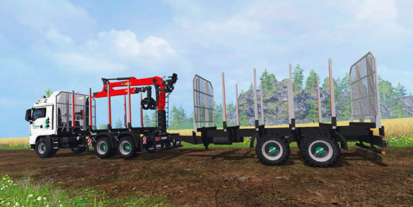 MAN TGS 41.480 Forest v 1.0