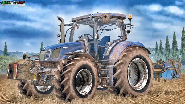 New Holland T6.160 175 Blue Power Golden Jubilee v 1.1