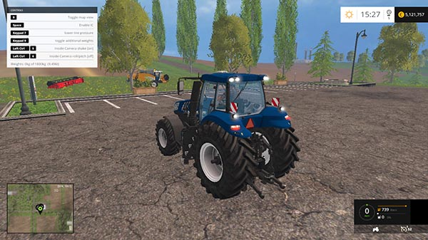 New Holland T8 Golden Jubilee v 1.1