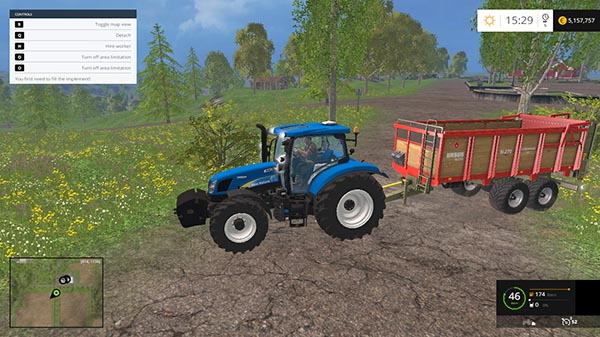New Holland TS135A v 1.0