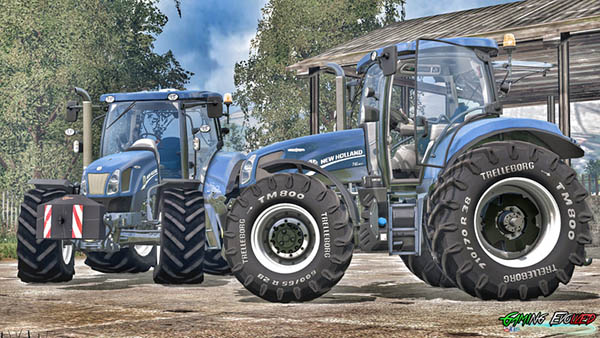 New Holland T6.160 175 Blue Power Golden Jubilee v 1.2