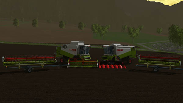 Claas Lexion 430 And 460 Pack v 1.3