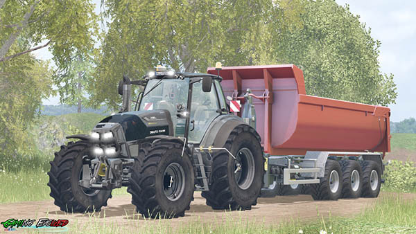 Deutz Fahr 7250TTV Warrior v 5.0