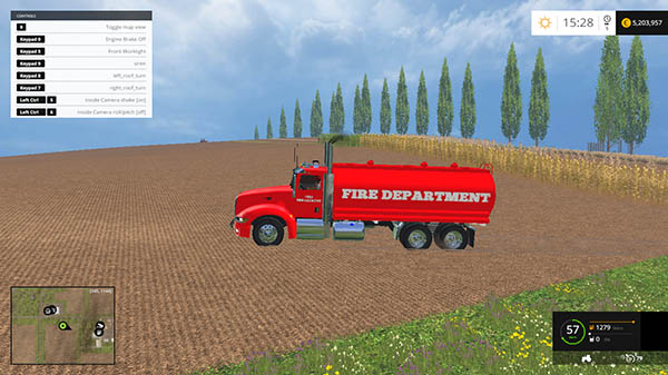FIRE FUEL TRUCK v 1.0