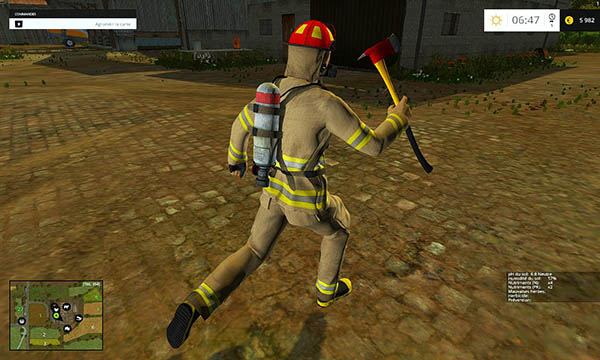 Firefighter placeable 001