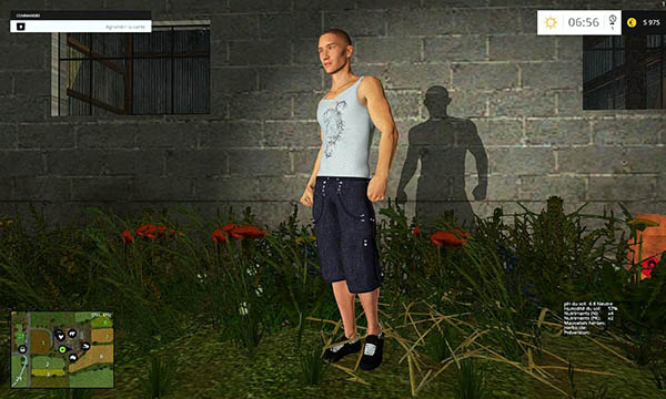 Man placeable 001