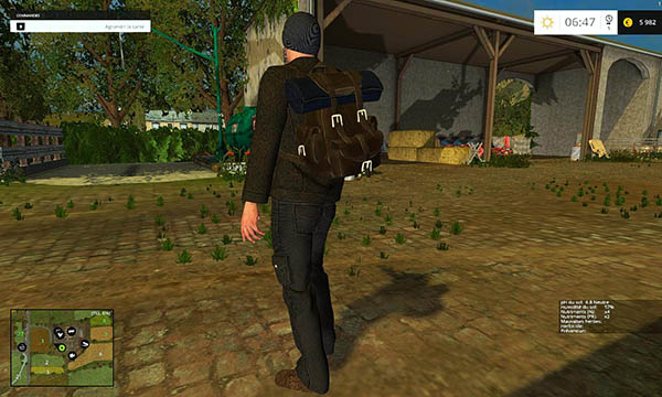 Man placeable 002
