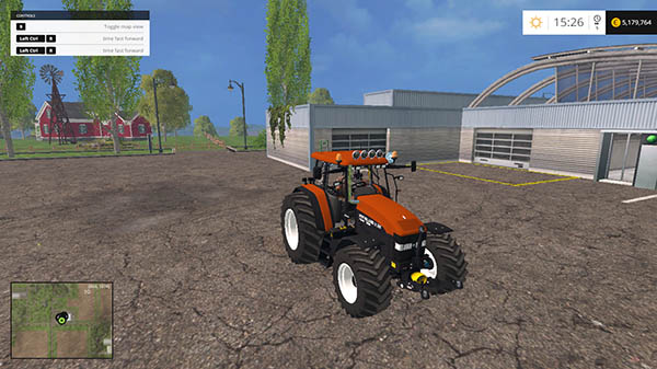 New Holland M160 Turbo v 1.9