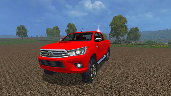 Toyota Hilux 2016 Turkish Mod Team v 1.0