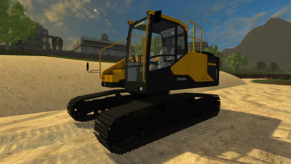 Volvo ec300e Long Reach v 1.1