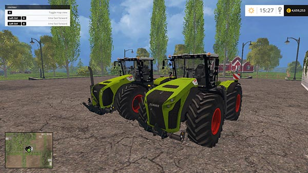 Claas Xerion 5000 Washable Full