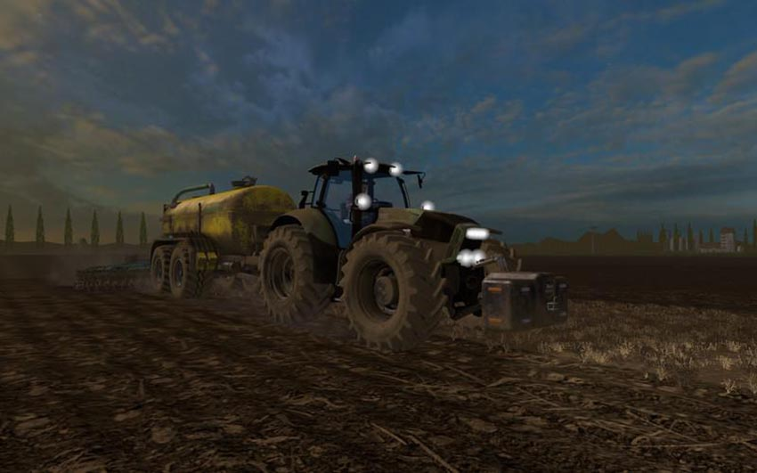 Deutz Agrotron X720 black wheels v 1.1
