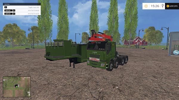 Iveco stralis wood chippers v 1.0