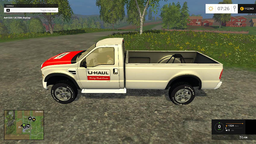 Ford F-250 Single Cab U-Haul Edit v 1.0