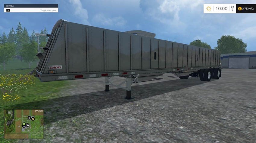 Dakota 48ft Spread Axle Trailer v 1.0