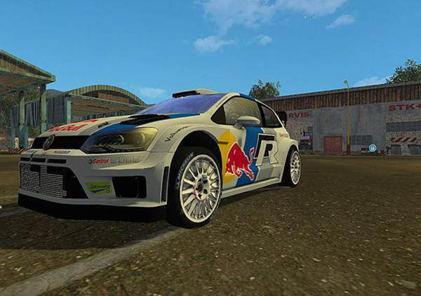 VW POLO WRC RED BULL v 1.0