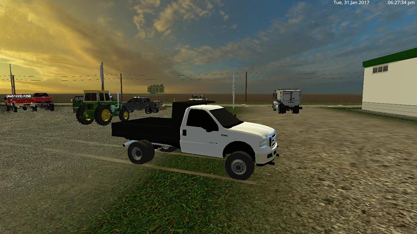 2005 Ford F-250 Single Cab Dump and Utility v 1.0