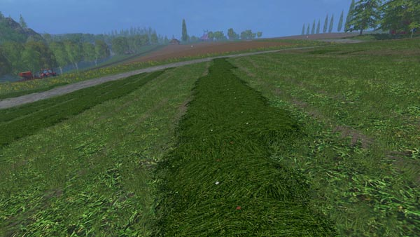 New grass texture swath