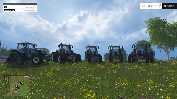 New Holland Pack T8-T9