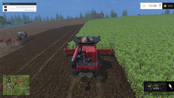 LS15 soil and fruit textures