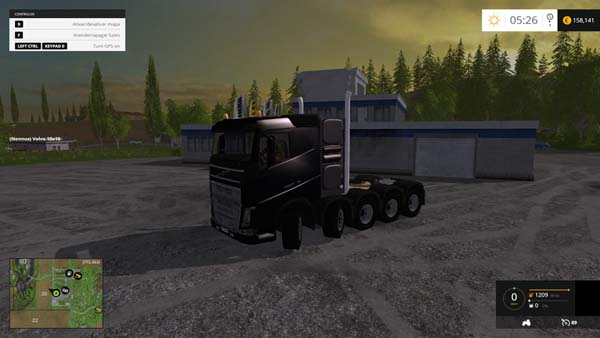 Volvo FH16 Heavy Duty 10x10 and 8x8 Pack