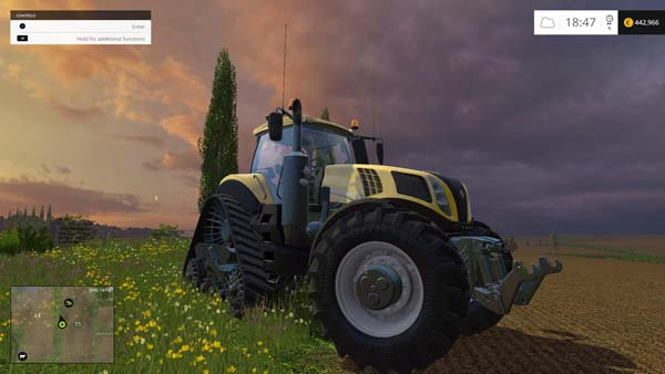 New Holland T8345 600EVO