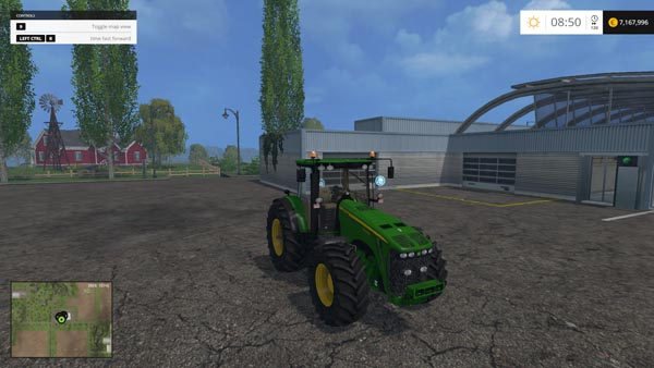 John Deere 8430 Weight