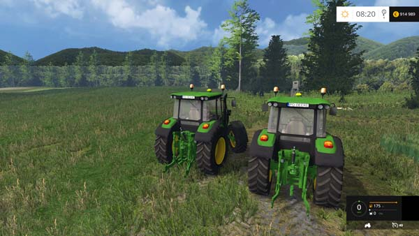John Deere 6090RC | Farming simulator 2015 mods