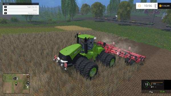 Case IH Steiger 535 Green
