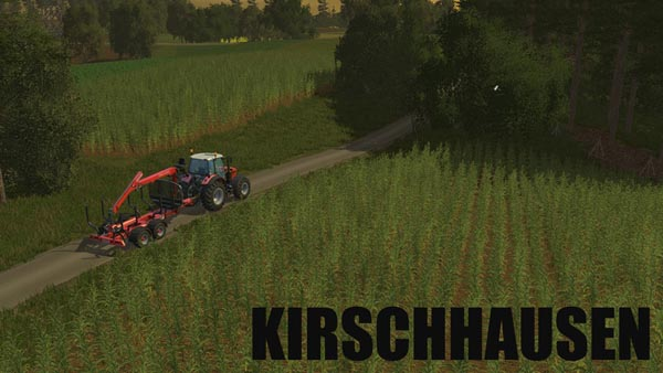 Kirschhausen agriculture in the hills