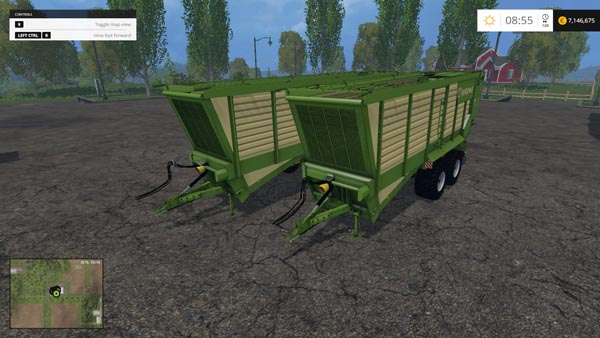 Krone TX 460 D and TX 560 D