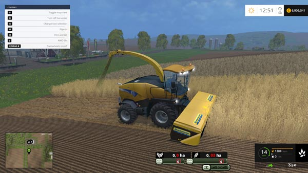NEW HOLLAND FR9090