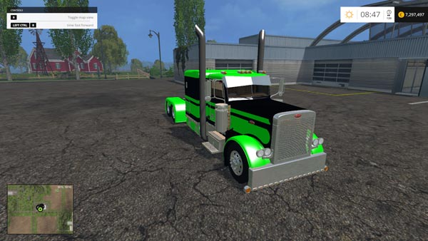 Peterbilt Green Flattop