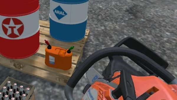 Double canister Husqvarna