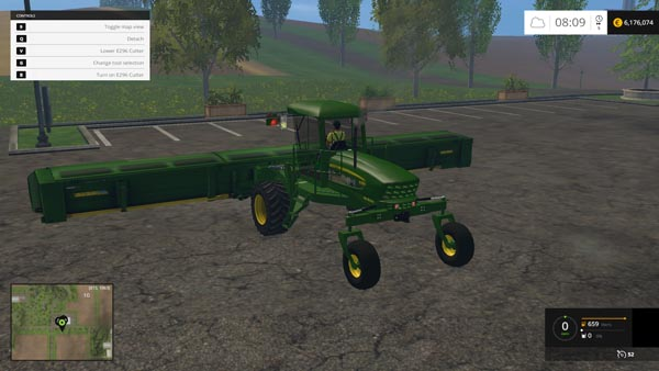 John Deere Windrower 450