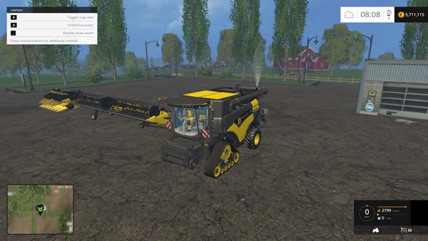 New Holland CR 1099 Terra Flex