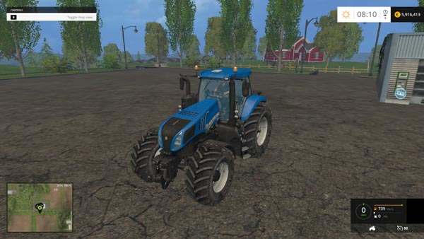 New Holland T8 320