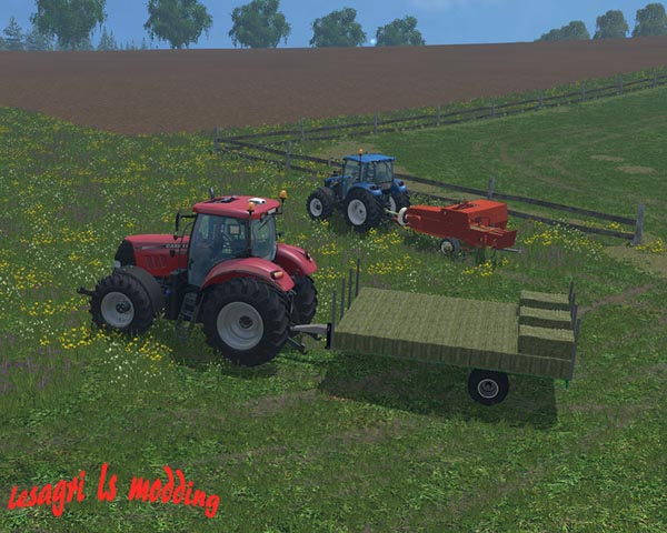 Trailers for small bales