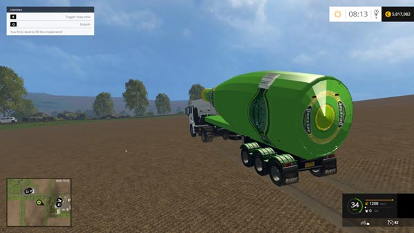 ZORLAC WATER TRAILER PERRIER TFSGROUP