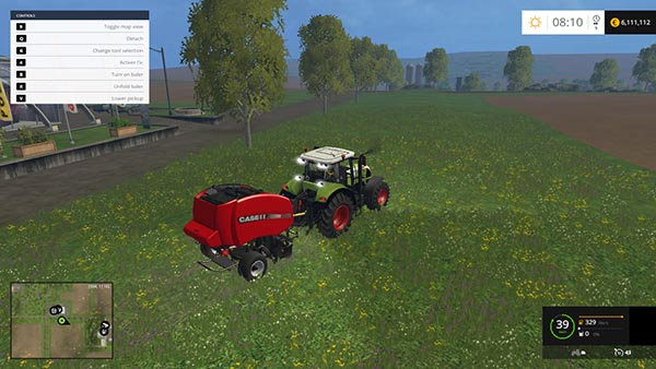 CASE IH RB 465 Baler