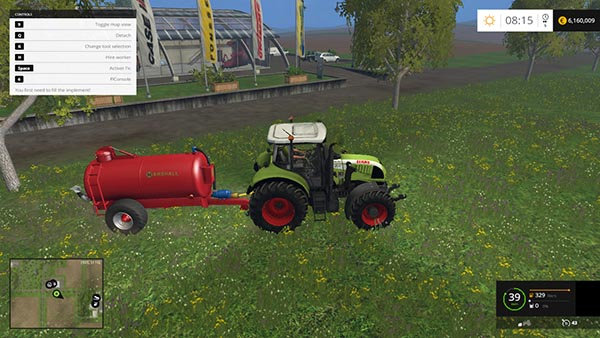 Claas Arion 620 FL