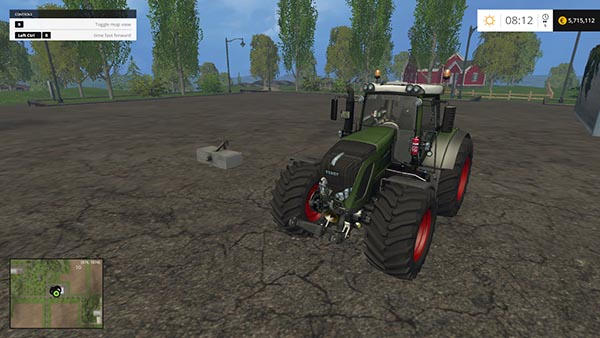 FENDT VARIO 936 BLACK EDITION
