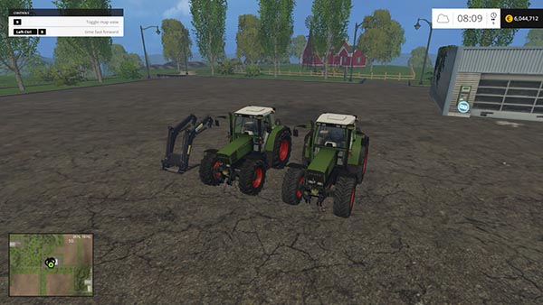 Fendt Favorit 512 and 515C FL