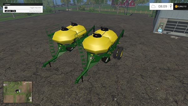 John Deere 1890 WingFlex Seeders Pack
