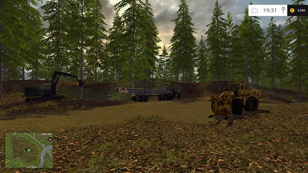 Pack Forestry equipment