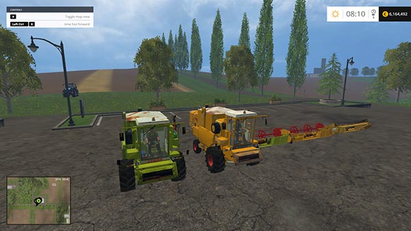 Claas Dominator 105 Pack beta version
