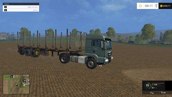 Forest tipper